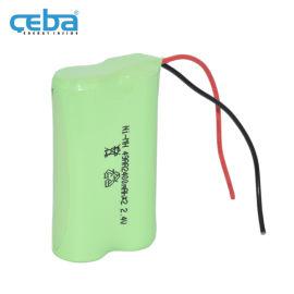 1x2AA电芯镍氢电池组2.4V电动玩具镍电芯