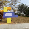 人物卡通雕塑擺件 創意玻璃鋼卡通人物雕塑尺寸