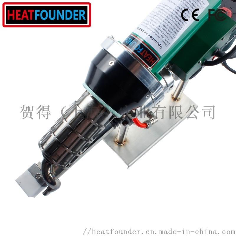 重叠焊接PVC,TPO聚合物膜挤出型焊接机挤出机