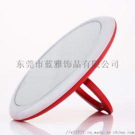 化妆镜带灯网红小款智能补光少女心随身迷你镜子