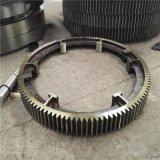 164齒22模數Φ2.4米烘幹機大齒圈滾圈託輥生產公司