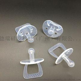 全硅胶安抚安睡奶嘴模具定制 硅胶拇指灯胆奶嘴头