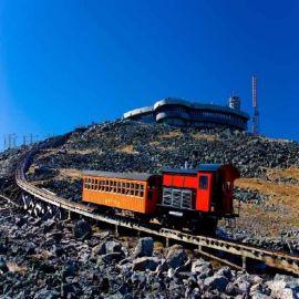 复合式大坡度有轨观光火车
