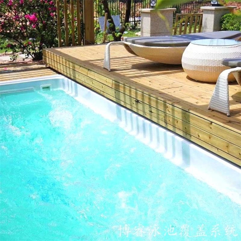 博睿泳池盖   泳池盖厂家  自动安全保温盖