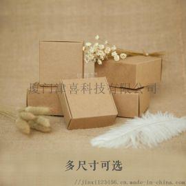 批发的促销的精致牛皮纸礼品盒纸盒