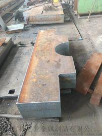 Q355D钢板保探伤8-500MM以上零割
