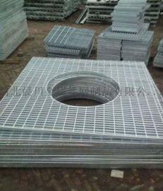 异形钢格栅板-镀锌钢格板-北京水沟盖板