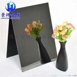不锈钢镜面板 精8K黑钛金