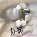 南通本格供应 纯白色鹅卵石 白色碎石头 白色小石子