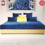 实木布艺 现代简约 设计师 沙发床