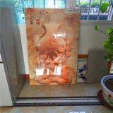 中式背景墙山水画 金属背景墙山水画铝单板