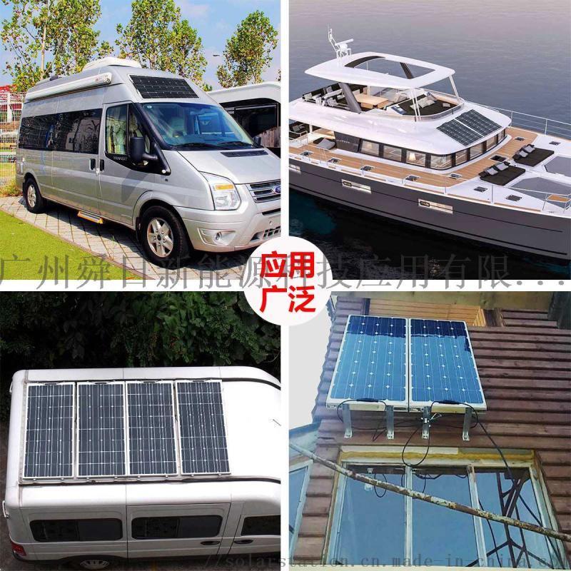 150W 18V多晶太阳能板 铝框光伏组件