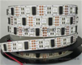 LED120灯 双排5050全彩七彩灯带 酒吧