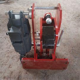 龙门吊防风制动器  耐磨防风铁楔  防溜车止滑铁楔