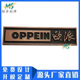 厂家定做欧派橱柜衣橱锌合金铭牌压铸金属标牌