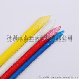 厂家直销硅树脂玻璃纤维自熄管 耐高温玻纤套管