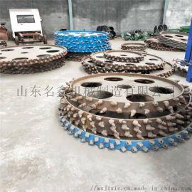 土质路面链条开沟机 地下水管电缆开槽机