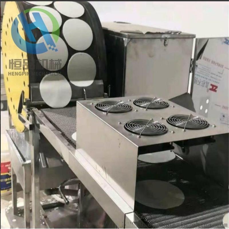 仿手工千层饼机 全自动春卷皮机 连续式烤鸭饼机