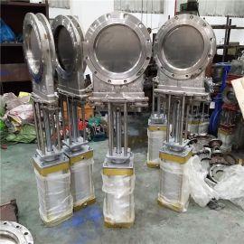 PZ673W-10P 气动刀闸阀 304插板阀