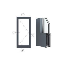 广东兴发铝材创高AL5918A|B系列内平开门