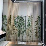 会议室隔断铝屏风,背景墙艺术铝方管,方管隔断屏风