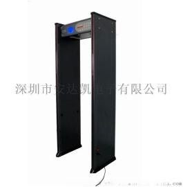中文顯示安全檢測門廠家 溫度和金屬探測 安全檢測門