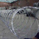 监狱学校防锈螺旋蛇腹型刀片刺绳生产厂家