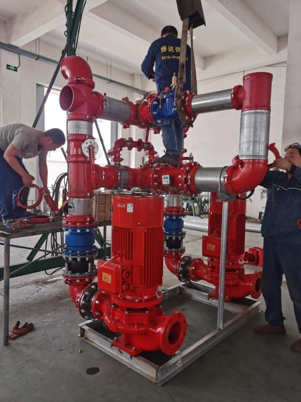 消防穩壓設備中多級泵的運用