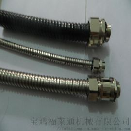 """304不锈钢金属软管外丝接头   G1""""软管接头"""