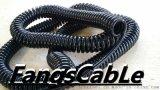 摊铺机螺旋电缆,高品质螺旋电缆