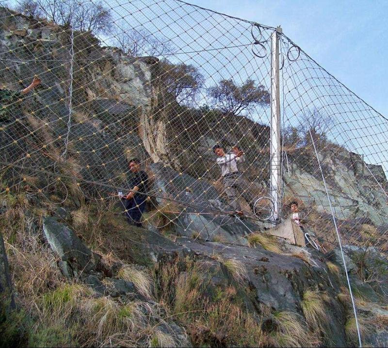 被动防护网安装注意事项 边坡防护网厂家