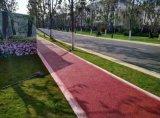 南寧市海綿城市建設,城市公園景區路面彩色透水混凝土