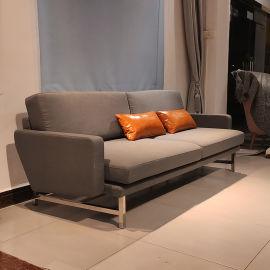 皮埃爾裏梭尼多人布藝沙發設計師定制沙發