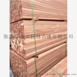 烟台印尼菠萝格耐磨实木地板厂家及供应商