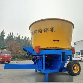 稻草草捆粉碎机 农作物秸秆粉碎机 大型麦秸粉碎机