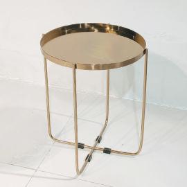 北欧设计师 不锈钢电镀 茶几