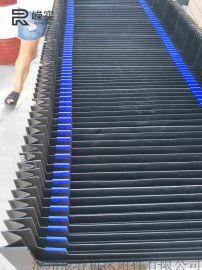 横梁风琴防护罩 PVC伸缩防护罩 机床导轨防护罩