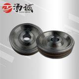 CNC圆边轮,6mm梯形双槽轮