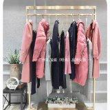 北京一線品牌折扣女裝琢盈冬裝專櫃尾貨渠道