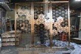 深圳新款折叠不锈钢屏风酒店酒楼大厅屏风厂家