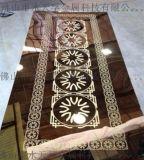 上海蚀刻香槟金不锈钢电梯装饰板