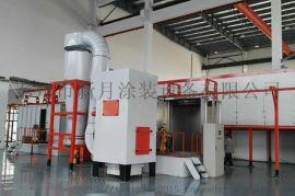 新月静电喷涂设备流水线大力研发生产绿色环保产品
