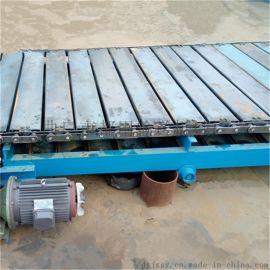 重型输送机 悬挂输送链条 六九重工 倾斜式链板输送