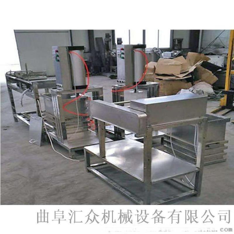 仿手工豆腐机 新款全自动豆腐一体机 六九重工全自动