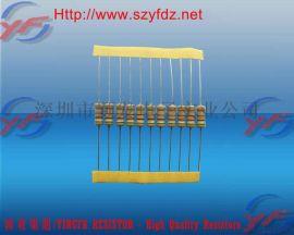 广东深圳1W插件色环碳膜电阻器