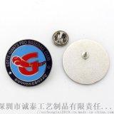 公司纪念徽章定做,锌合金立体徽章,韩国活动胸章生产