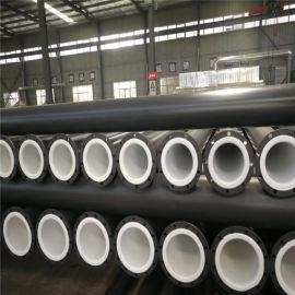 钢衬塑管道三通厂家防腐蚀化工管道