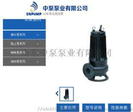 立式无堵塞化工排污泵污水厂抽水泵