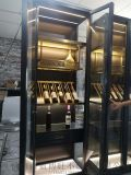 工廠定製酒店餐廳歐式葡萄紅酒恆溫恆溼不鏽鋼酒櫃