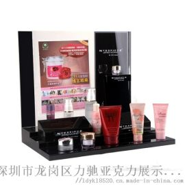 定制亚克力化妆品展示架化妆展示测试架